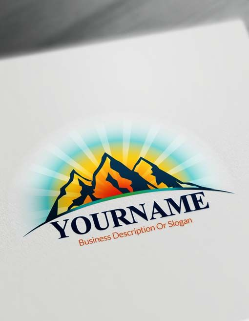 Design your own business logo free awesome graphic library create online mountains logo design free logo maker mountain rh pinterest co uk design your own business cards free printable design your own business cards reheart Gallery