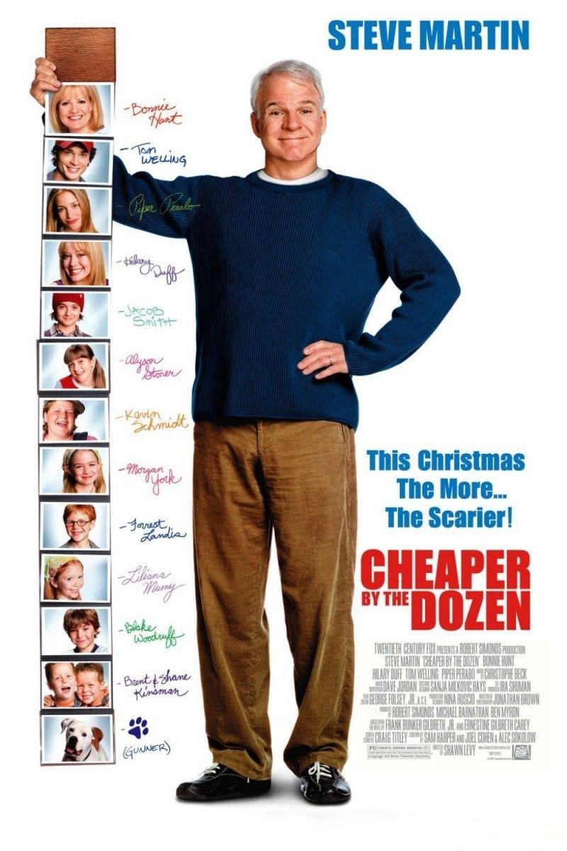 Cheaper By The Dozen Hilary Duff Tom Welling Piper Perabo