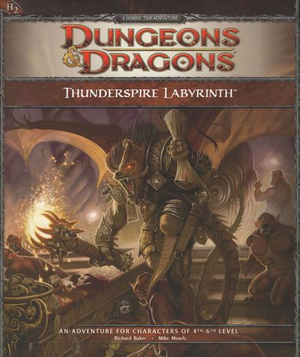 dnd thunderspire labyrinth pdf