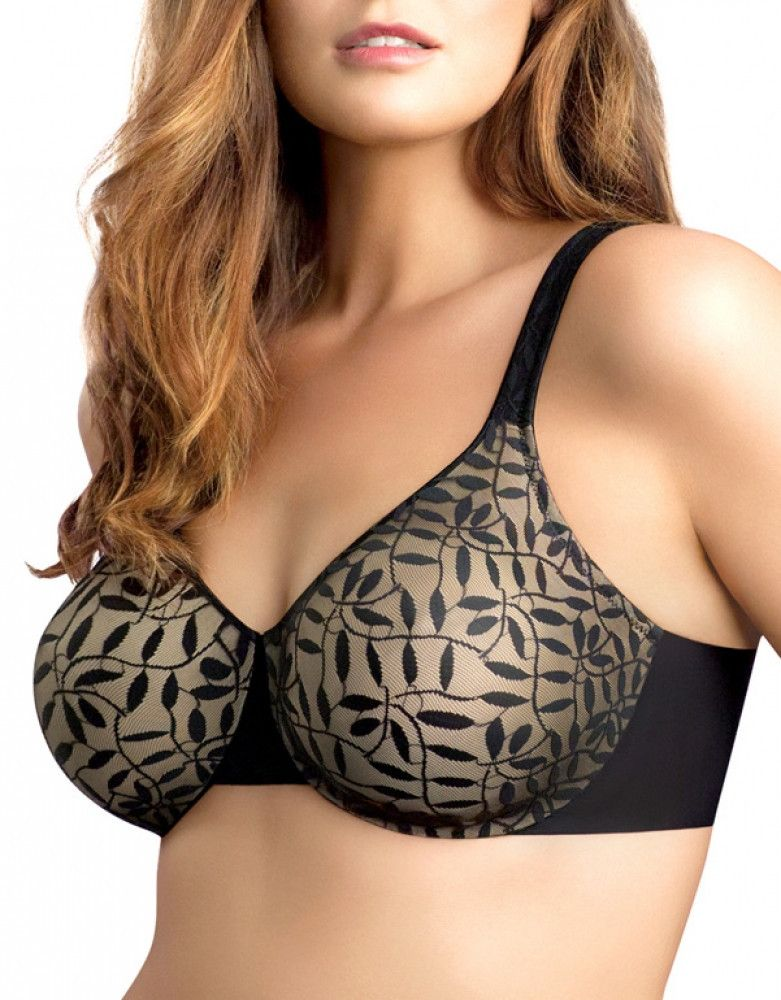 599b9ac136 Olga Sheer Leaves Minimizer Bra 35519  25.20 was  36