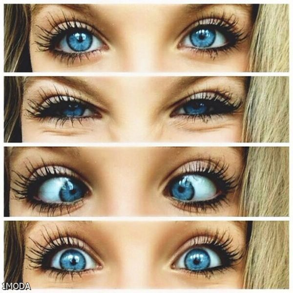 how to make your eyes blue naturally