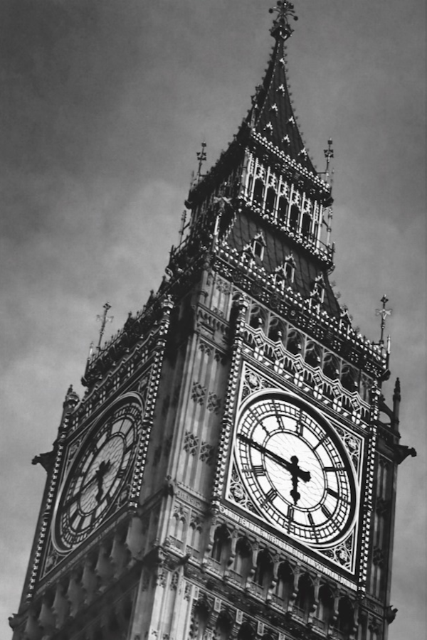 Black & White Close up Big Ben London Travel Canvas Print   Zazzle.com