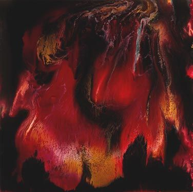 Keith Tyson - Nature Painting (Fire)