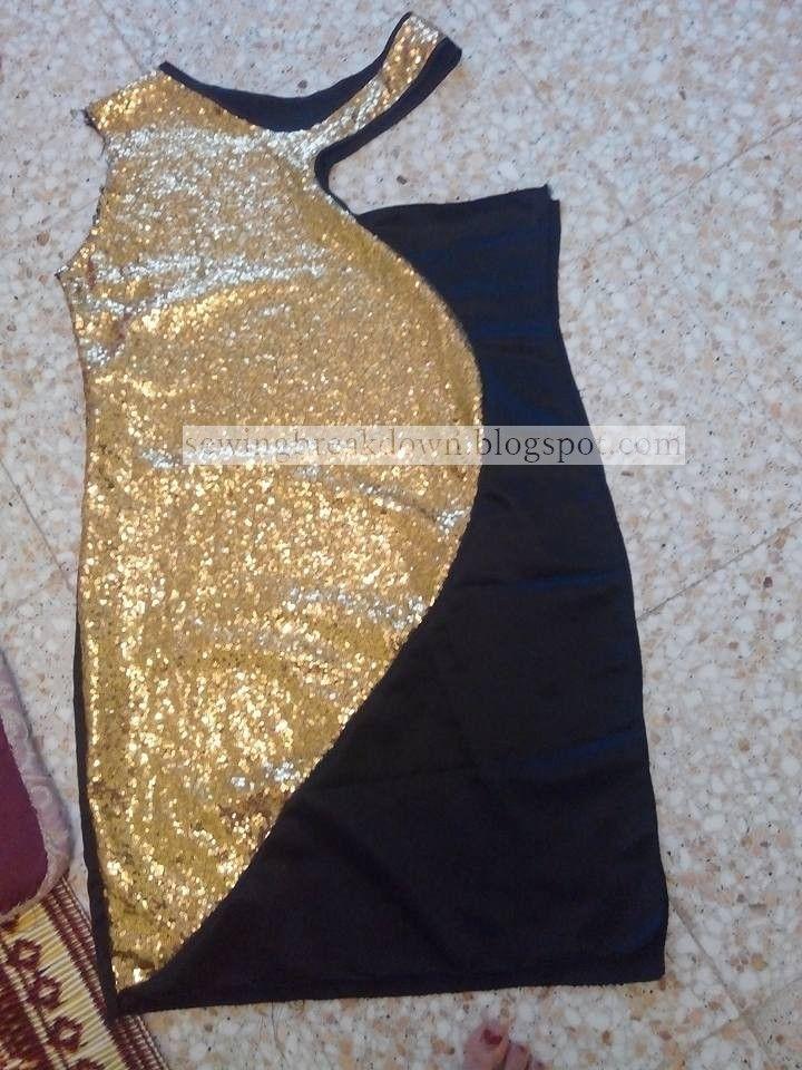 كيفية خياطة فستان سواريه قصير بالخطوات خياطة و تفصيل Soiree Dress Short Dresses Formal Dresses