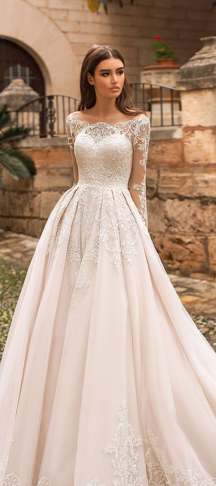 Naviblue Bridal 2018 Wedding Dresses - Dolly Bridal Collection #weddingdress #weddinggown #brideddress #bridalgown #weddingdresses
