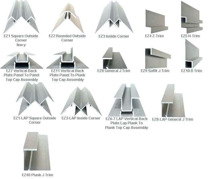 Metal Siding Trim Buy Online Direct Reveals From Details Siding Trim Aluminum Siding Trim Corrugated Metal Siding