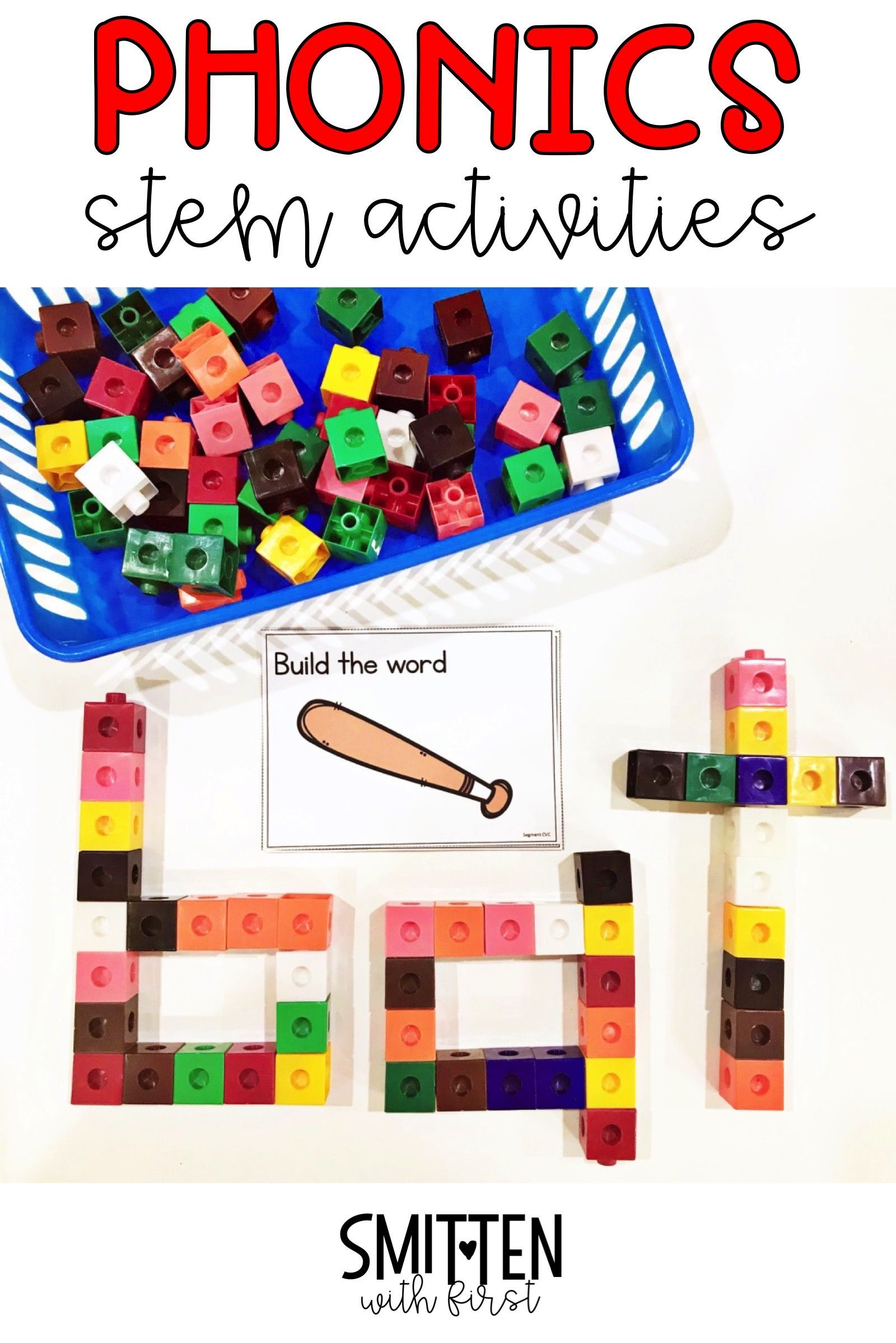 Short Vowel Cvc Words Activities