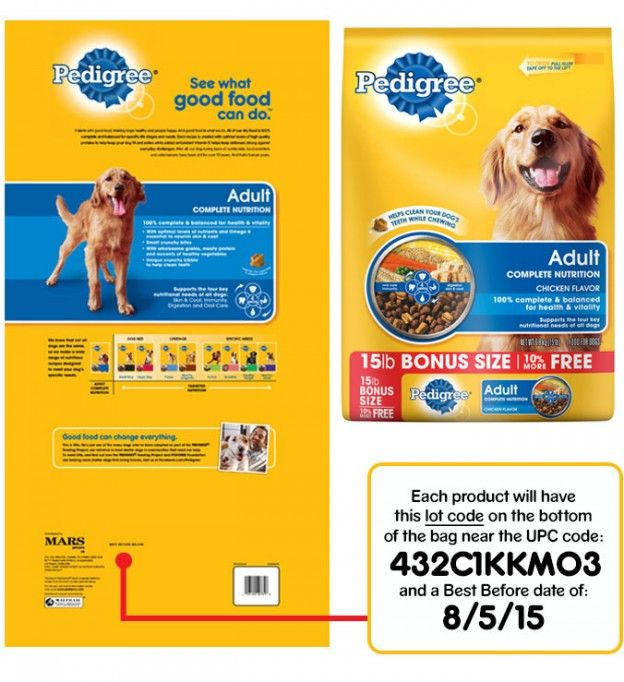 Pedigree Recall Expanded Still Limited Six States Dog Food