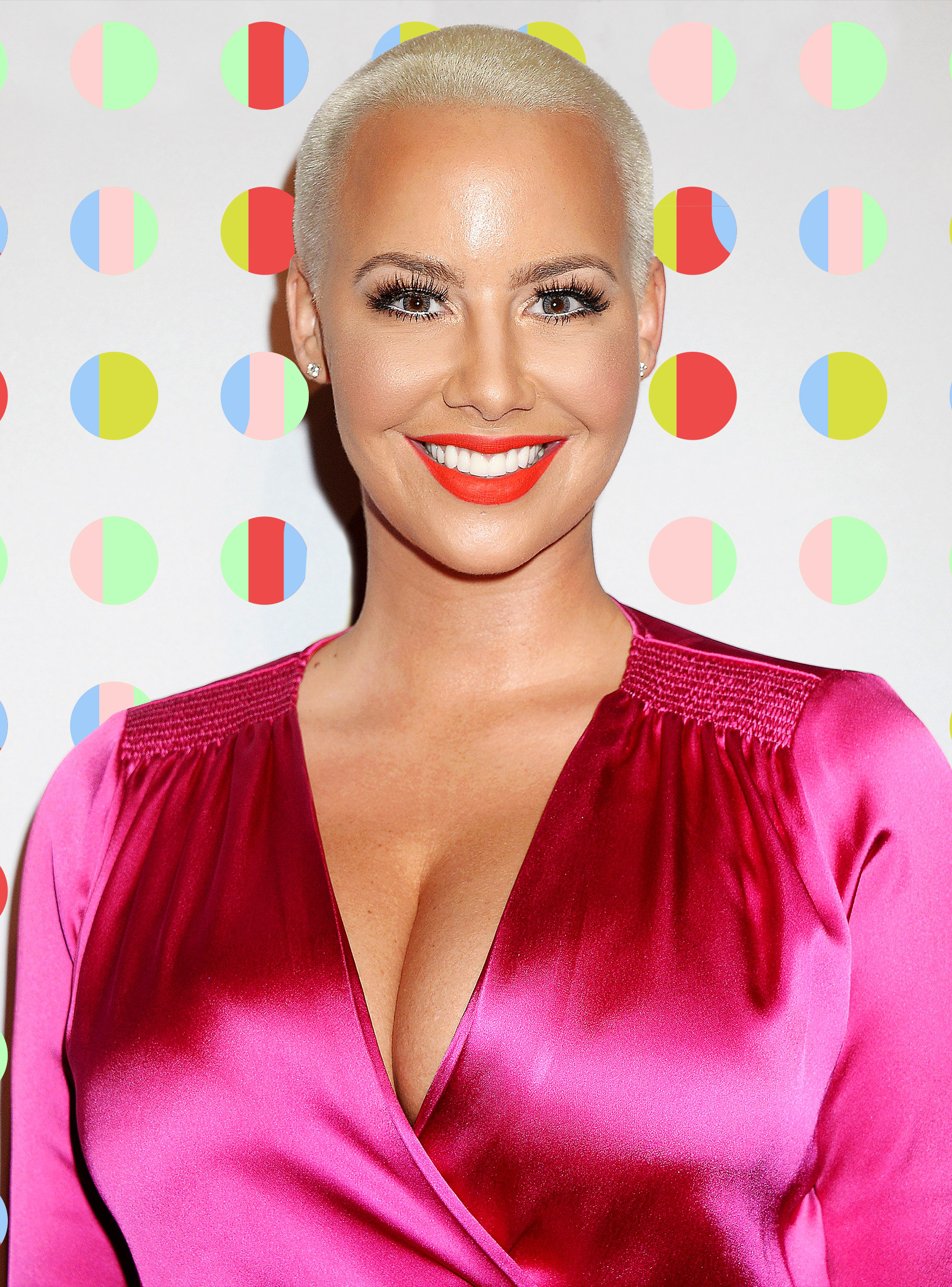 """Amber Rose Says Her New Lipsticks Are """"Definitely"""" Makeout"""