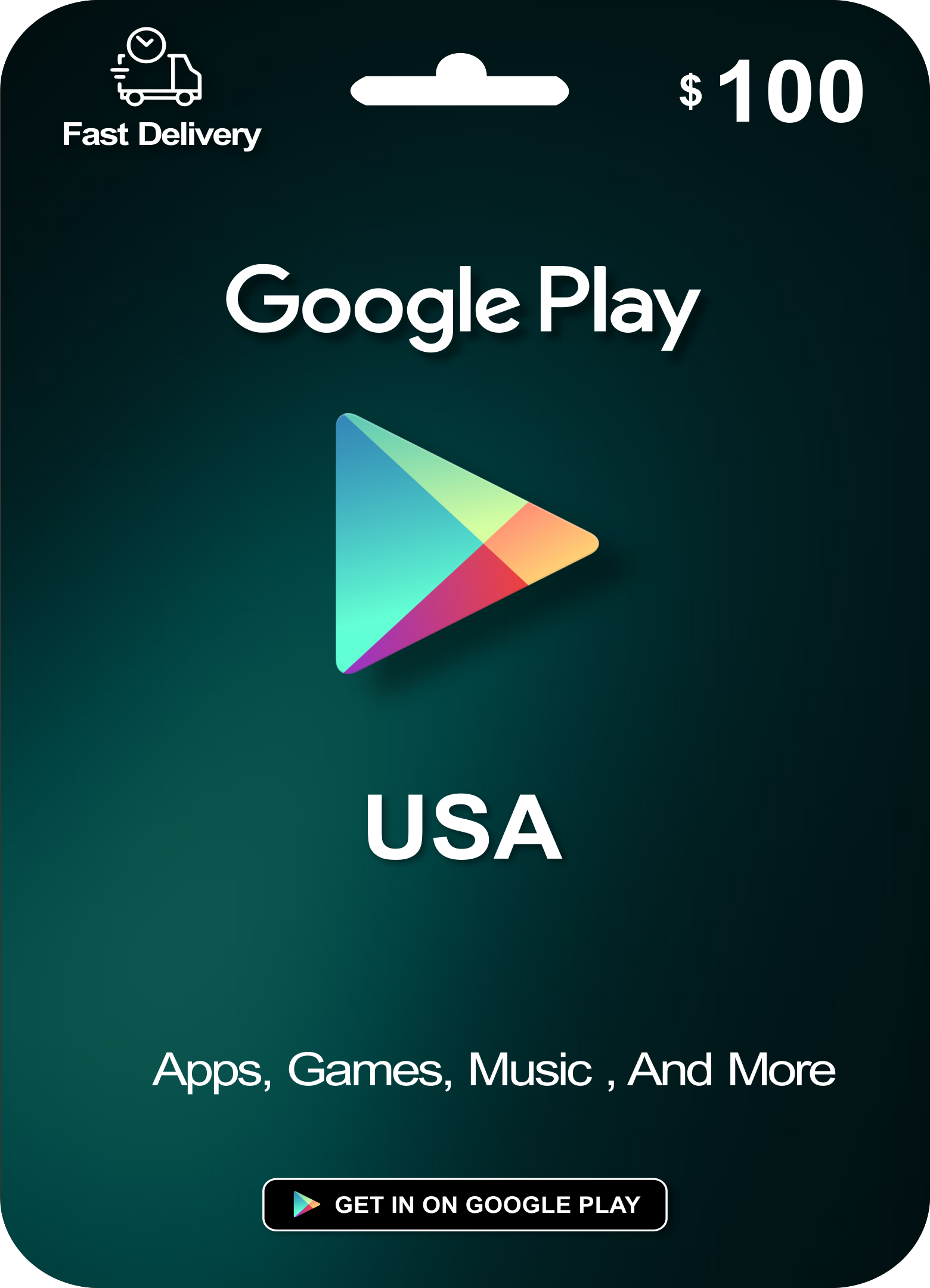 Google Play Gift Card 100 Usd United States Google Play Gift Card Mcdonalds Gift Card Ikea Gift Card