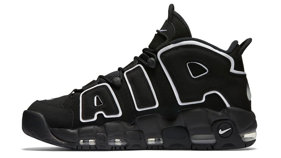 release date: 65b95 2ad76 BUY Nike Air More Uptempo Black White  Kixify Marketplace