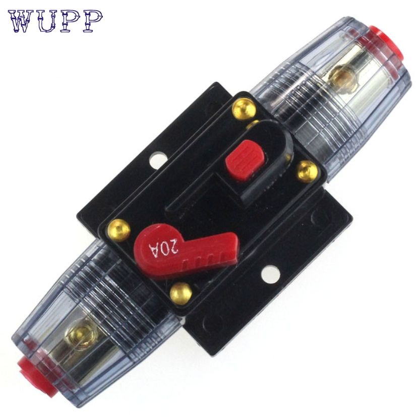 New Arrival Car Auto Accessory DC 12V Audio Stereo Circuit Breaker Replace Fuse 20A dr19