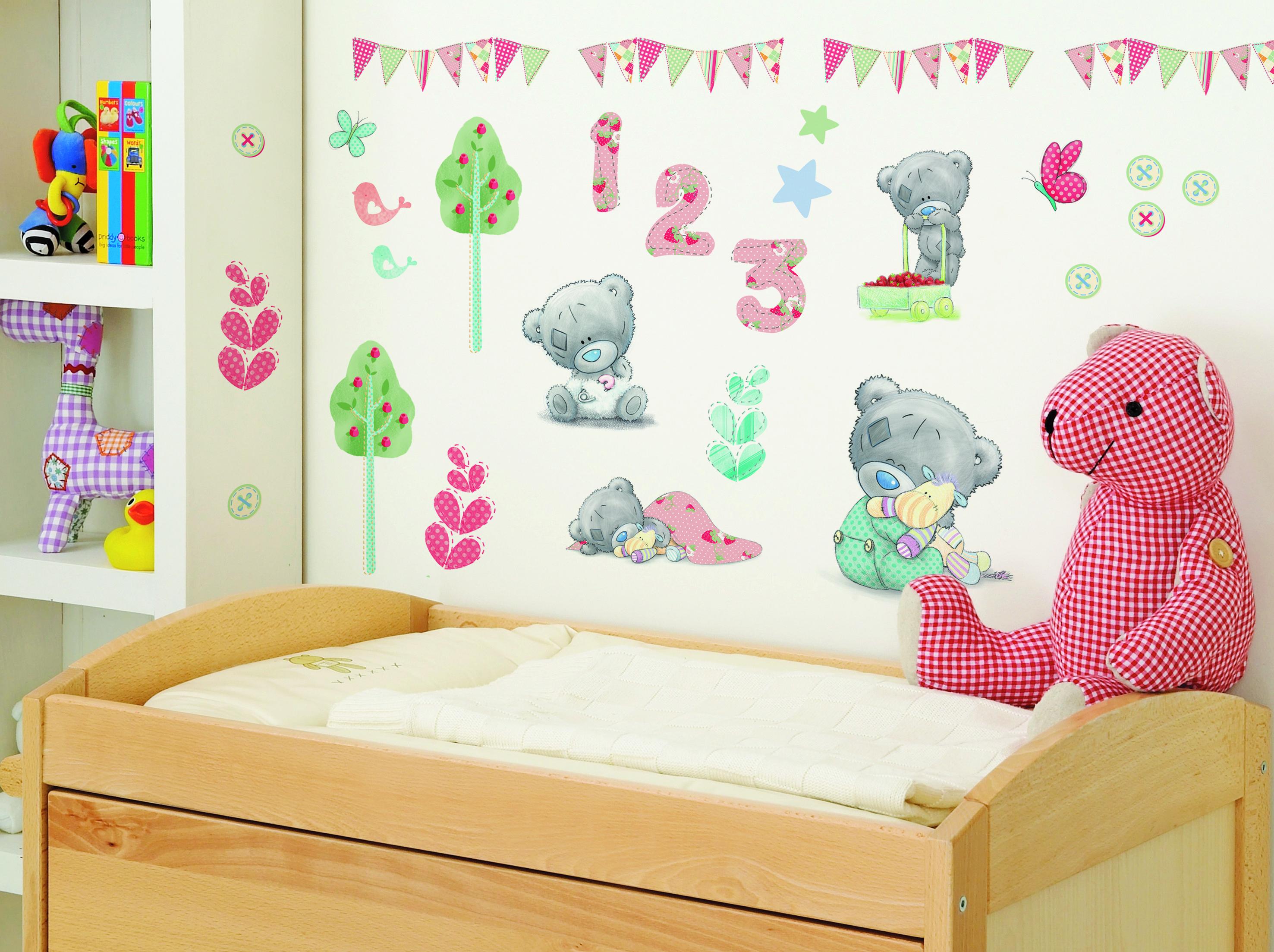 Tiny Tatty Teddy nursery wall stickers by FunToSee. 16 best Tatty teddy images on Pinterest