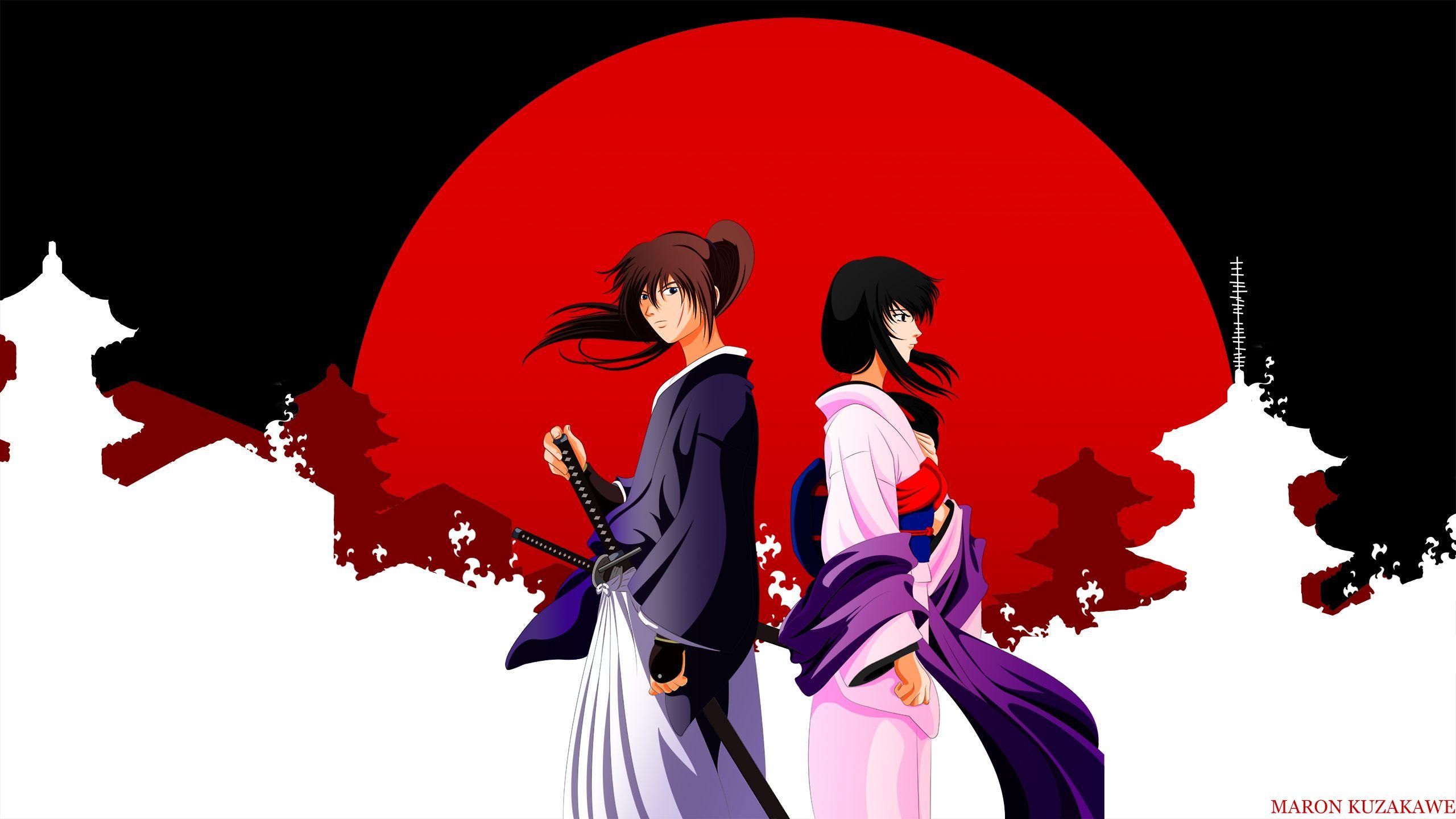 Download Rurouni Kenshin Wallpaper In Memories 2560x1440 Rurouni Kenshin Samurai Artwork Anime Download wallpaper anime samurai x