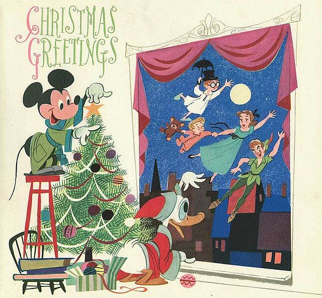 Disney Christmas Cards.Disney Christmas Greetings Various Sundry Disney