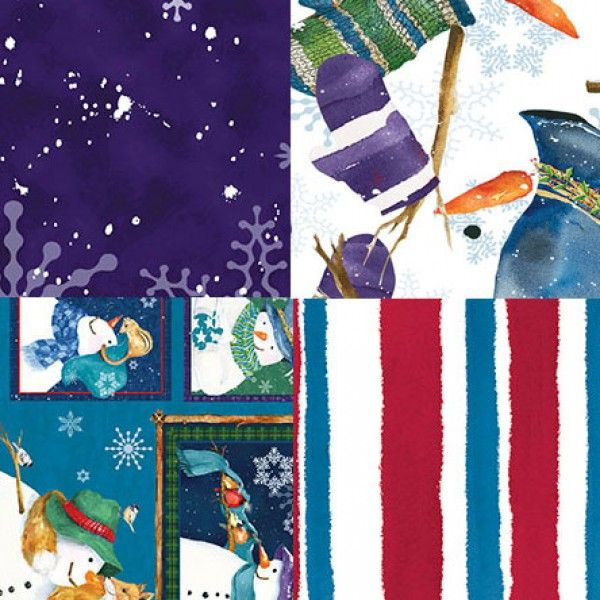 Clothworks Fabric Collection Creature Comforts designed by
