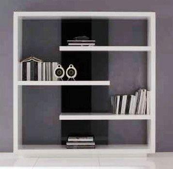Grupo dise o biblioteca modular estante mueble fabrica - Muebles la fabrica manresa ...