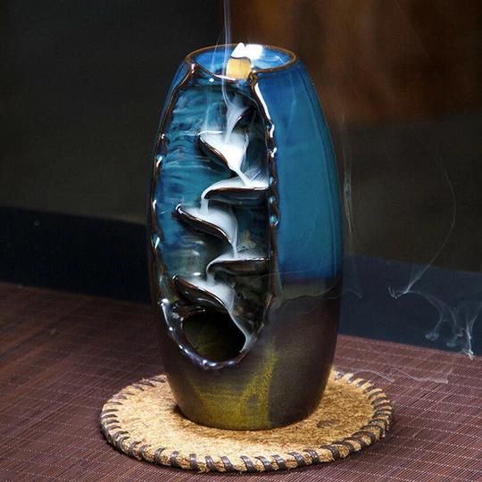 Waterfall Backflow Incense Burner – Bell-Vee