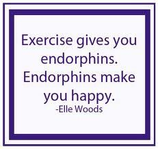 This is so true! Whenever I'm feeling crappy, a good workout is the PERFECT fix!
