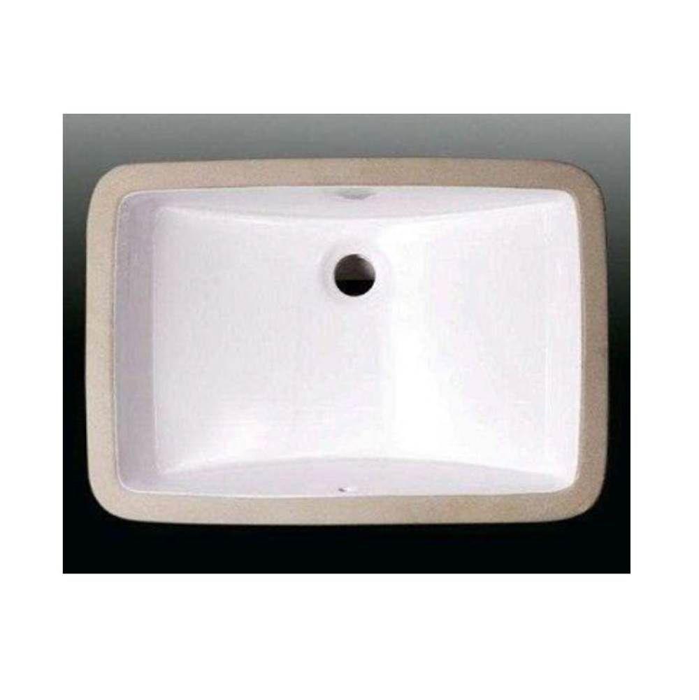 Rampart Supply Nello Cs 021 Undermount Lavatory Sink Rectangle Lavatory Sink Sink Kitchen And Bath Showroom