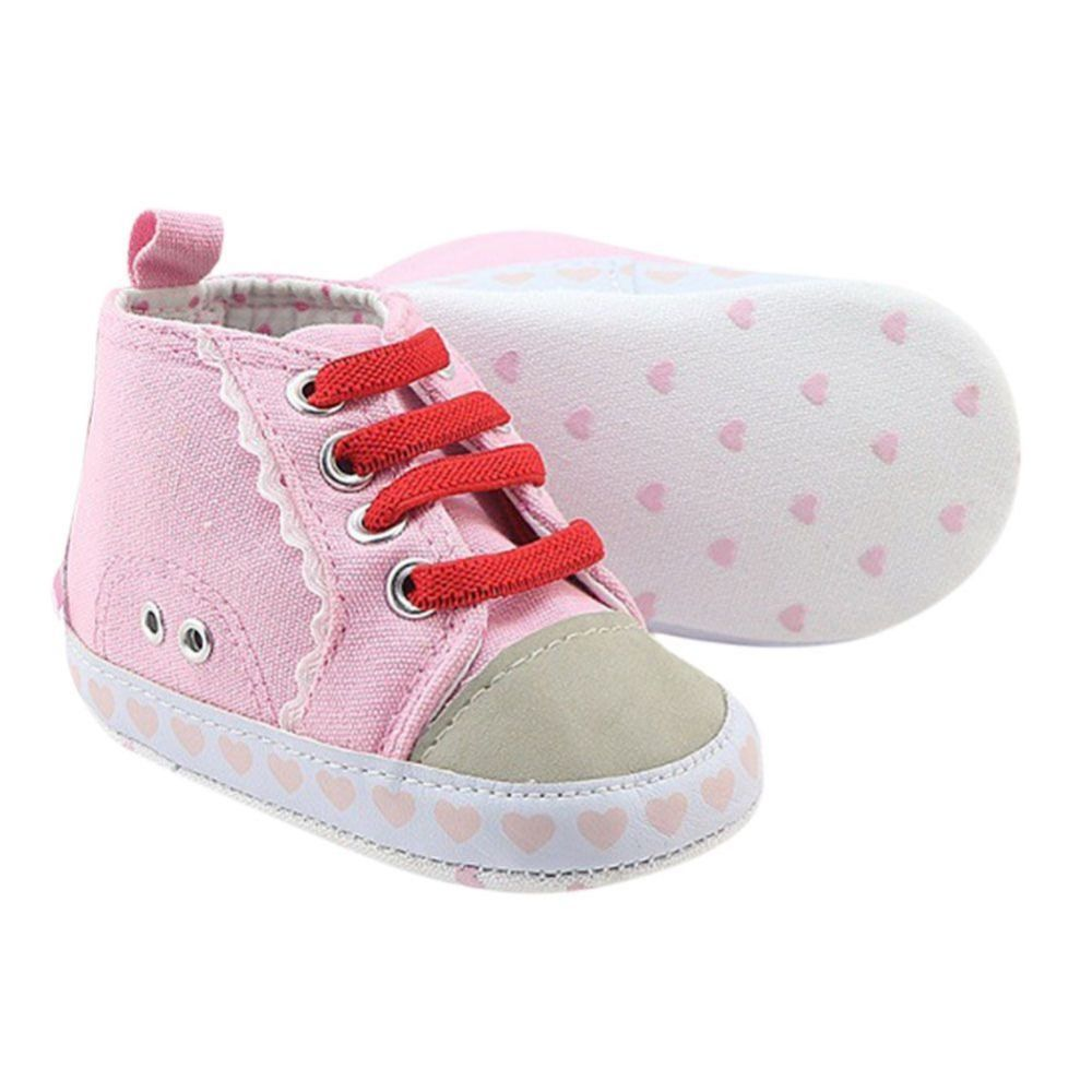 DZT1968  Beautiful Toddler Baby Girls Boys Shoes Infant Non-Slip First Walkers Sneakers