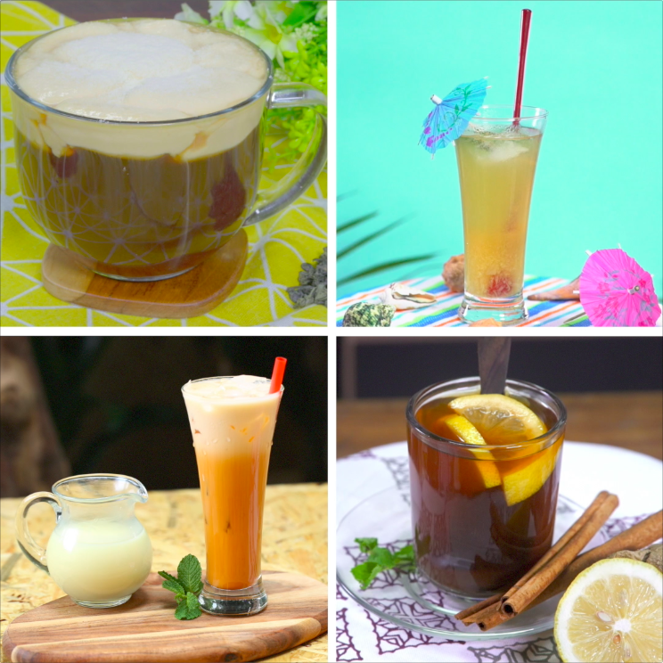 4 Kreasi Teh Resep Masakan Indonesia Hidangan Penutup Resep Minuman