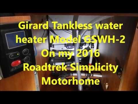 Problems with Girard water heater in a Roadtrek Simplicity