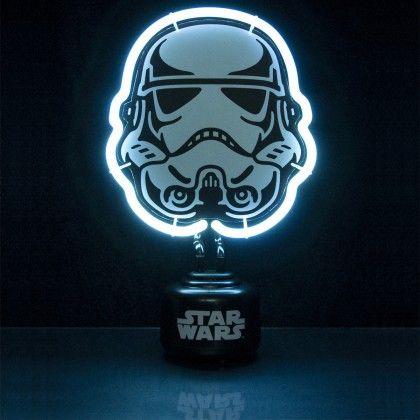 lampe n on stormtrooper star wars cadeau star wars star wars star wars stormtrooper et n on. Black Bedroom Furniture Sets. Home Design Ideas