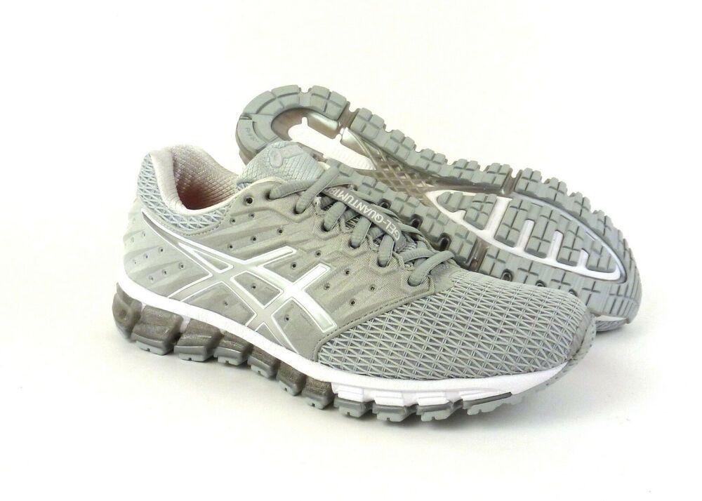 Asics Gel Quantum 180 2 Women S Running Shoes Sneakers Grey Silver
