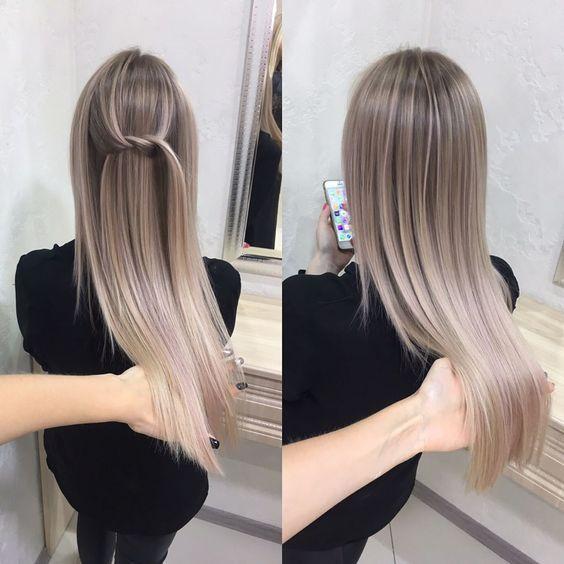 Mechas Rubio Cenizo Claro Hairstyle Pinterest