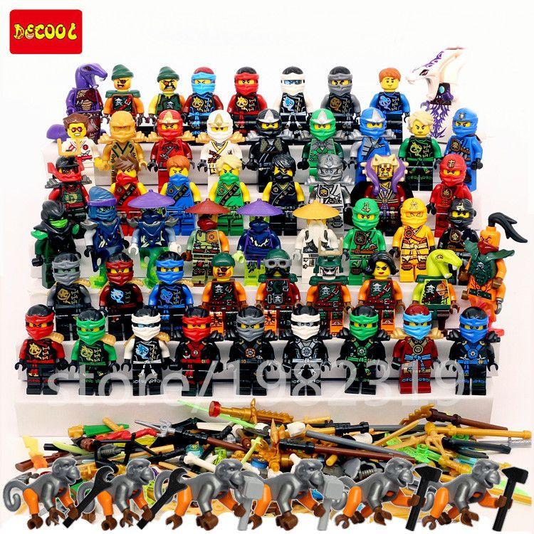 2016 Hot Compatible Legoes Ninjagoes Minifigures Set Kai Jay Cole