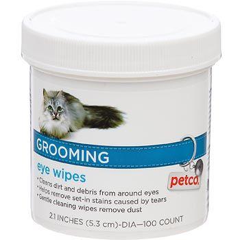 Petco Grooming Eye Wipes For Cats Pet Grooming Dog Brushing Petco