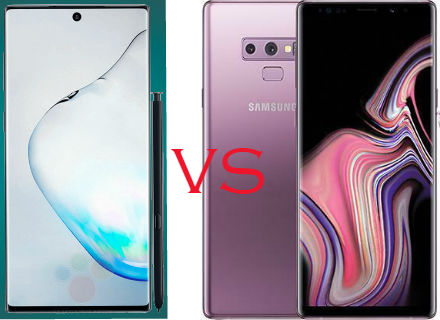 Samsung Galaxy Note 10 vs Galaxy Note 9 Review - E-Goods Info