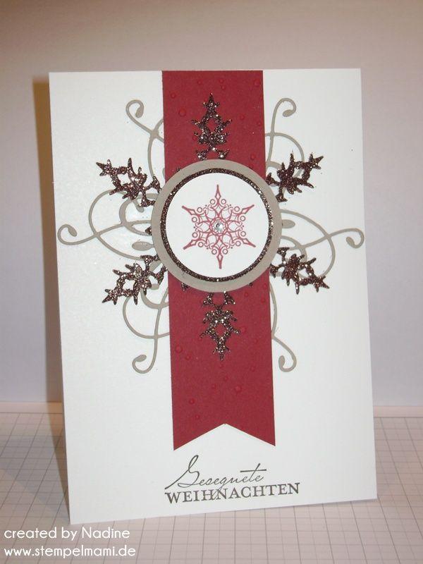 weihnachtskarte christmas card stampin up stampin 39 up. Black Bedroom Furniture Sets. Home Design Ideas