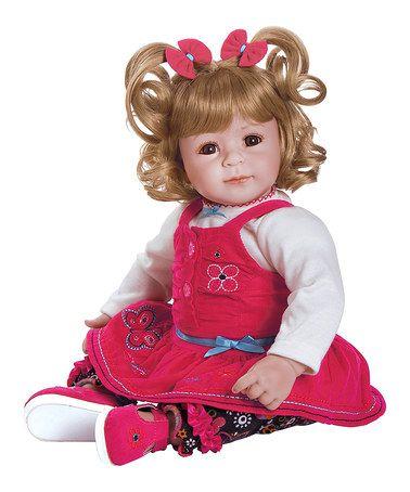 This Corduroy Cutie Baby Doll by Adora Dolls is perfect! #zulilyfinds