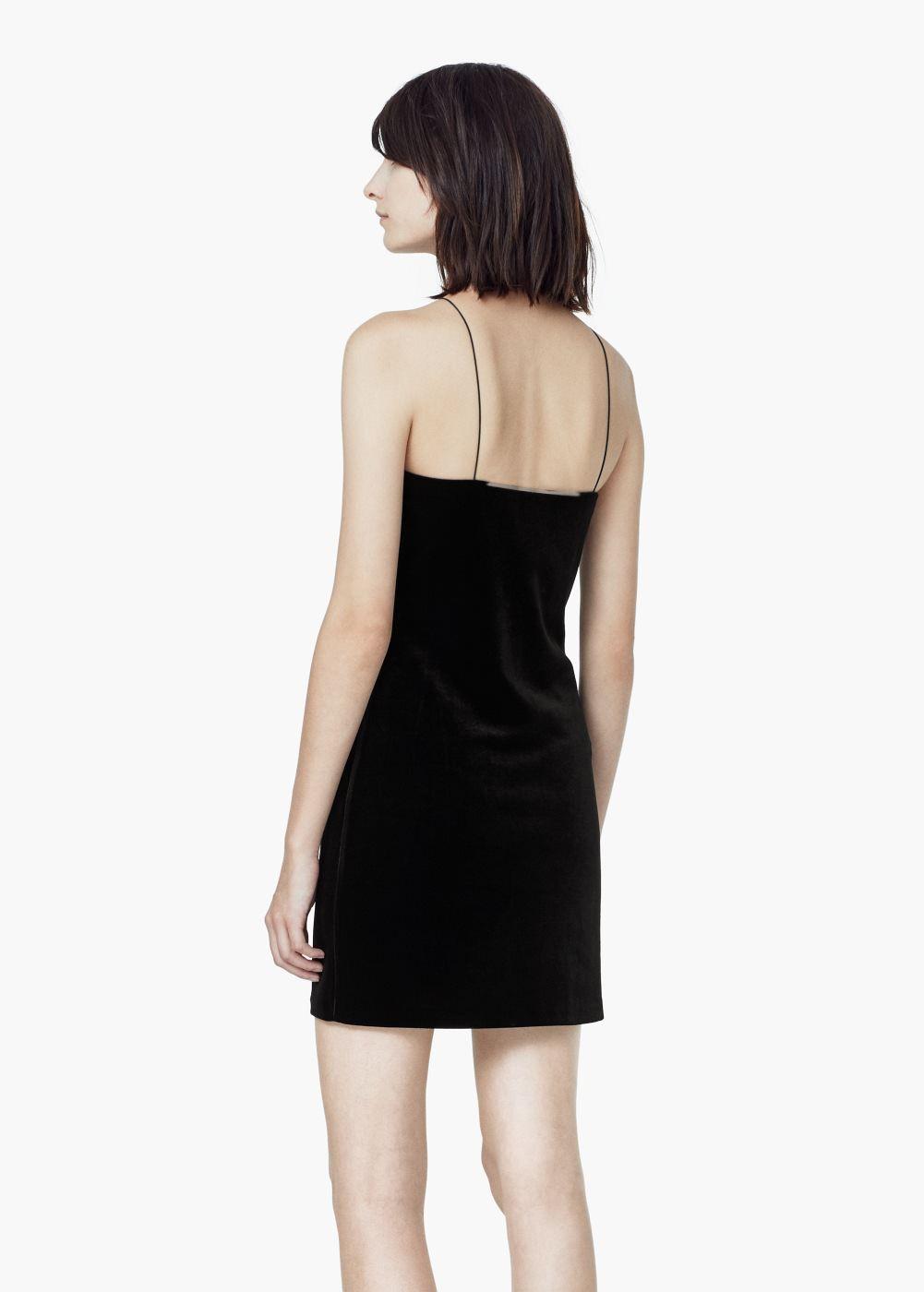 Halter velvet dress woman dress skirt and fashion