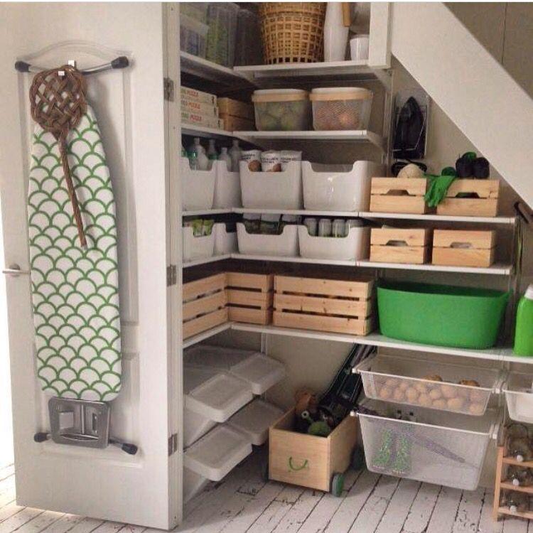 Populair Trapkast indeling Ikea | Nieuwe huis in 2019 | Opberg ideeen TU01