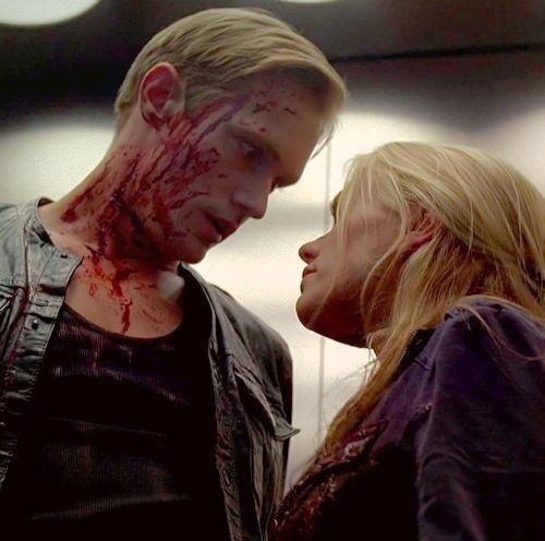 Eric and Sookie - True Blood season 5 finale  Alexander Skarsgard