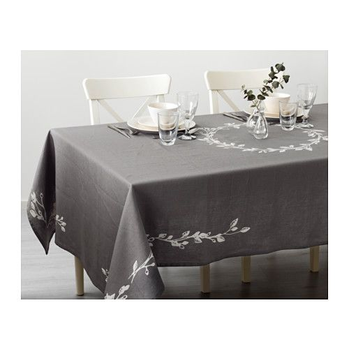 VINTER 2016 Tablecloth IKEA The tablecloth both protects the table and creates a decorative table setting with atmosphere.