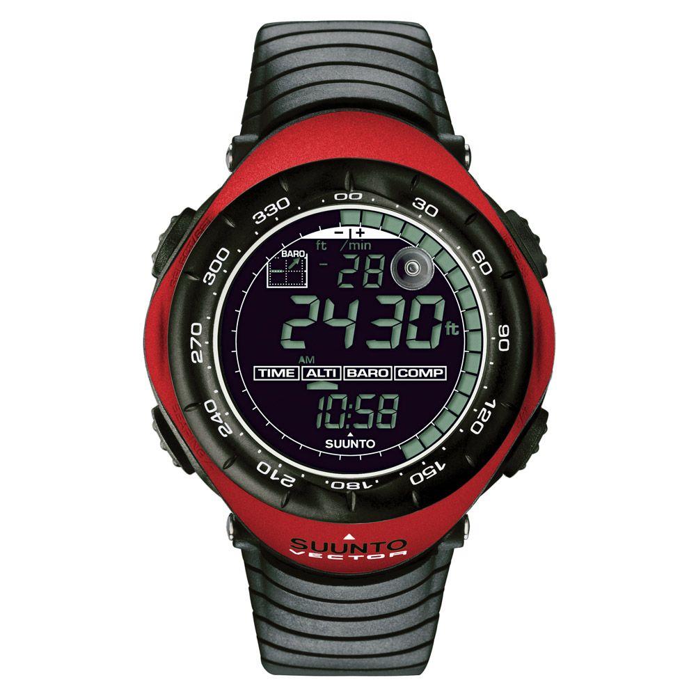 Suunto Vector Red Outdoor Outdoor watch, Altimeter