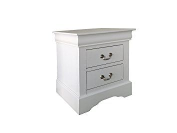 Best Acme Furniture Louis Philippe Iii 24503 Nightstand White 400 x 300
