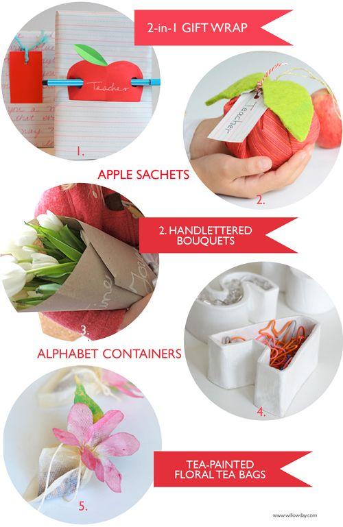 5 Handmade Presents for Teachers   willowday