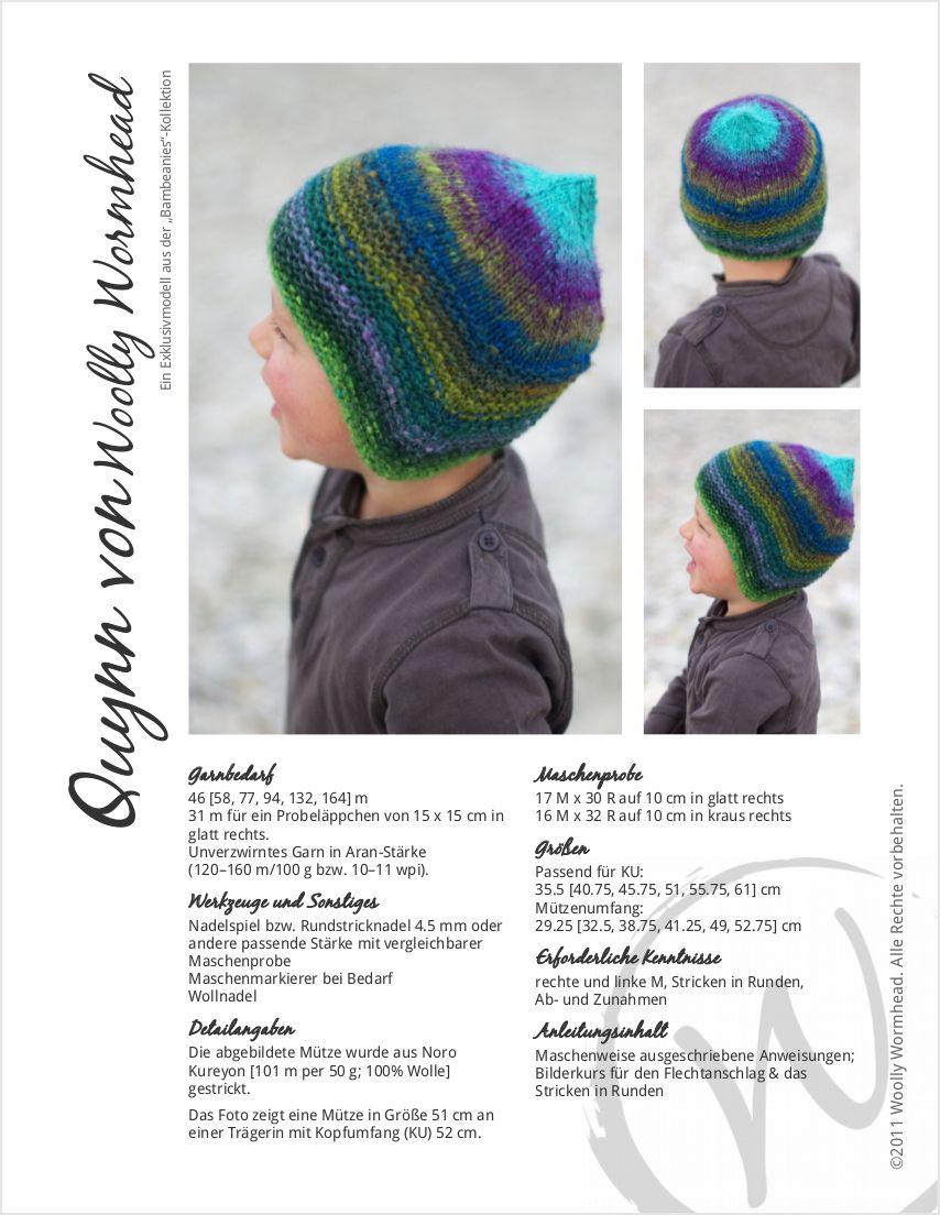 Quynn chullo pixie Hat knitting pattern | DIY | Pinterest | Wooly ...