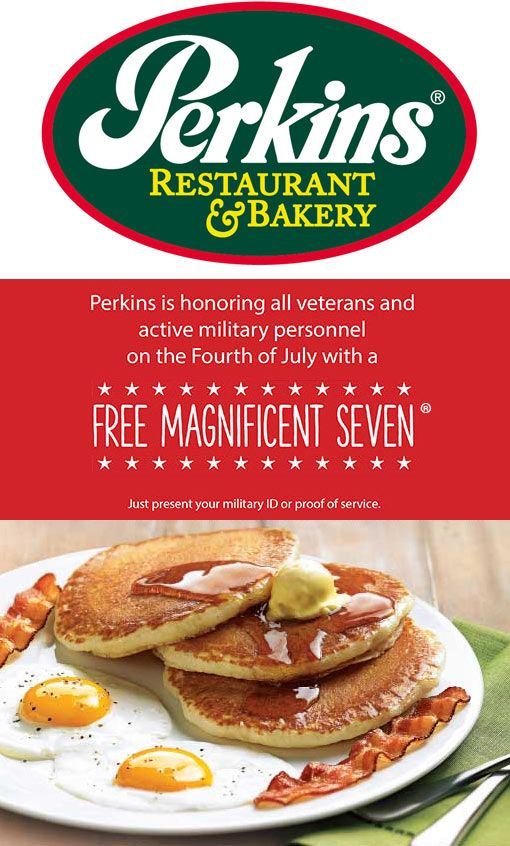photograph regarding Perkins Restaurant Printable Coupons known as Pinned July 2nd: Navy love a #No cost impressive 7