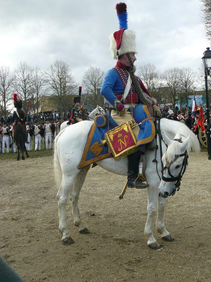 Tromba dei cacciatori a cavallo della guardia imperiale francese