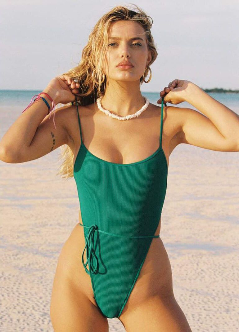 Frankie's Bikinis Holds Nothing Back With This Resort Collection