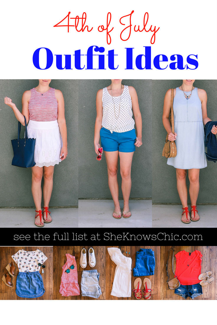 634d79510809 14 Outfit Ideas for the Fourth of July – She Knows Chic, fourth of july