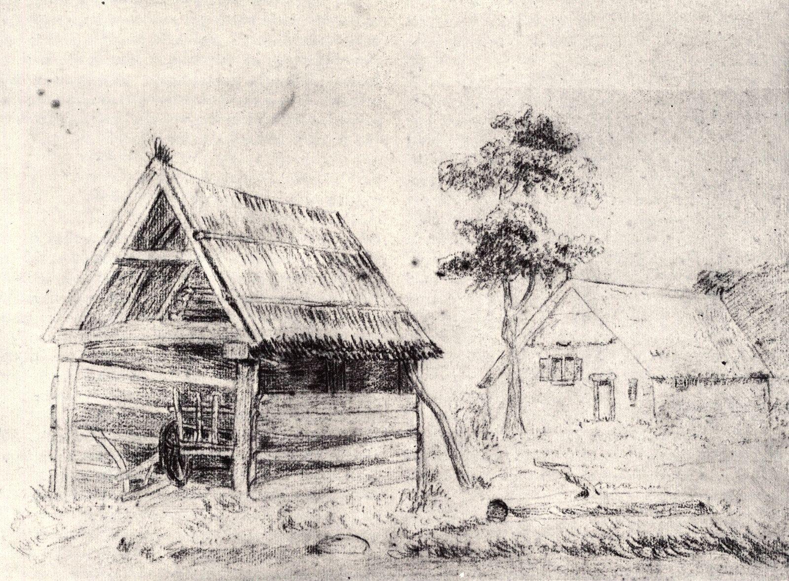 Barn and Farmhouse в 2020 г. Винсент ван гог, Художники