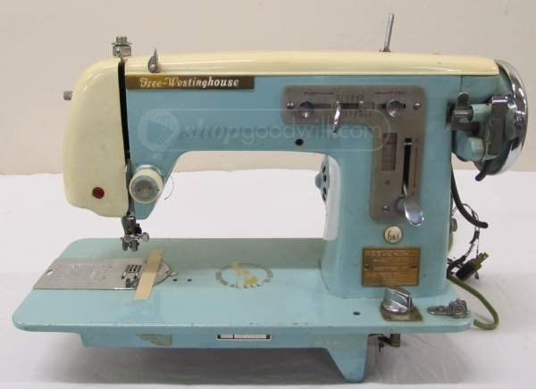 Shopgoodwill Vintage FreeWestinghouse Sewing Machine Vintage Custom Free Westinghouse Sewing Machine Value