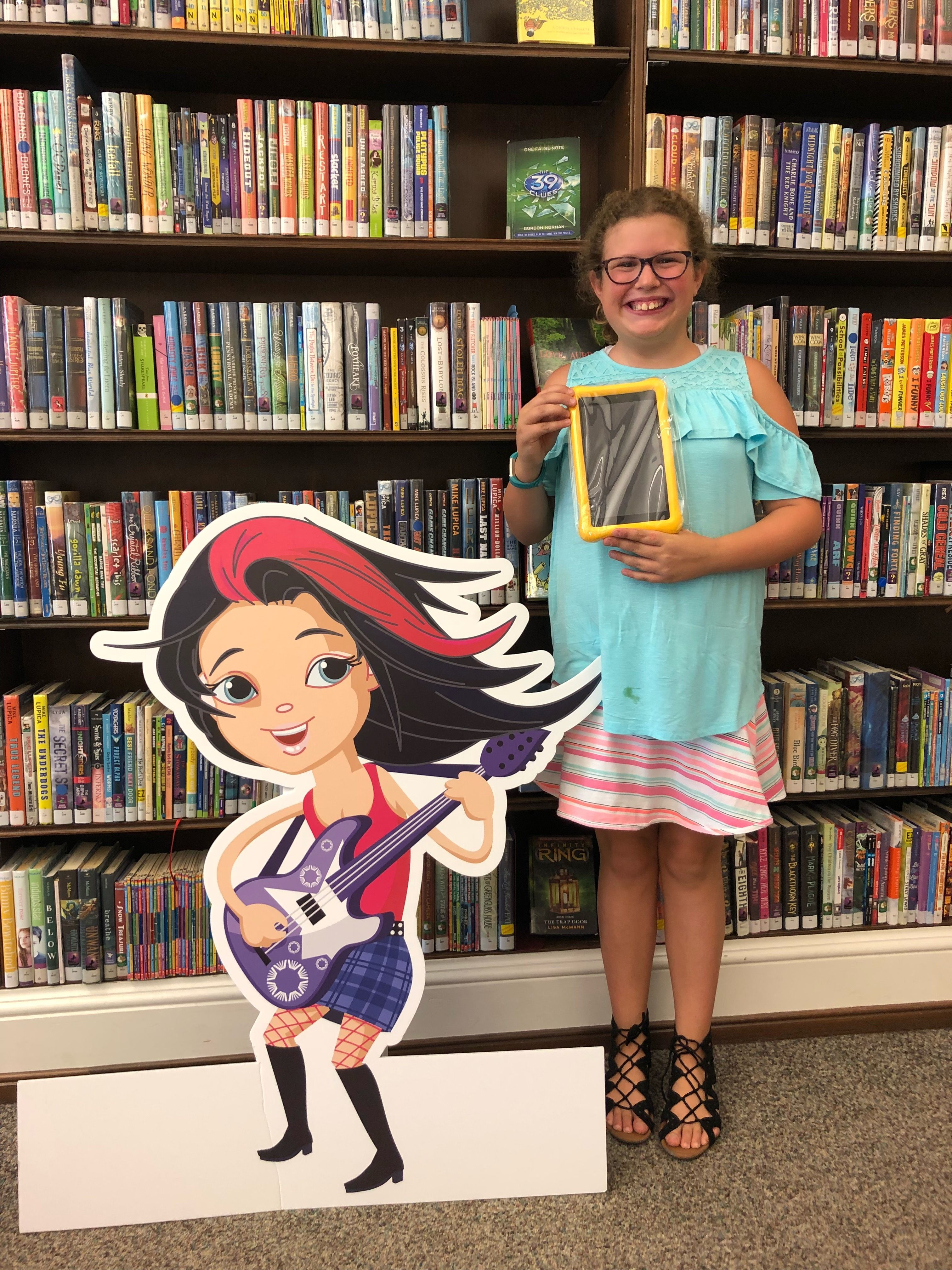 We Have Another Young Summer Reading Club Kindle Winner This Time From The Johnson Memorial Library Open4discove Reading Club Dauphin County County Library